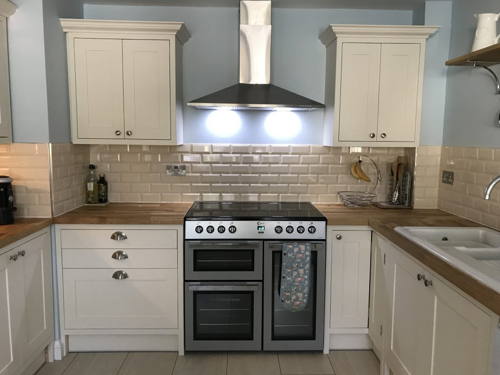 Shaker Style Kitchen Painted