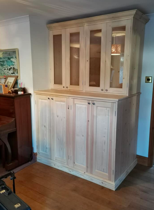 Bespoke Cupboard made for storing musical Instruments